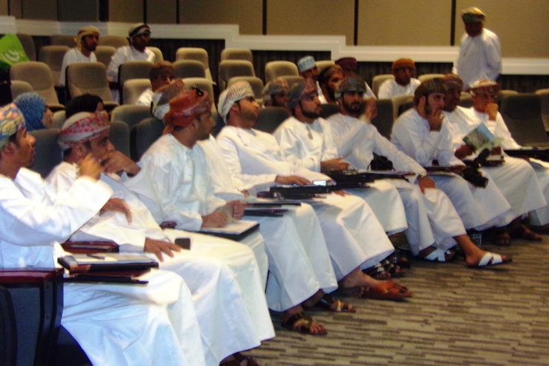 تدريب منسوبي جامعة السلطان قابوس في إدارة الجودة التعليمية